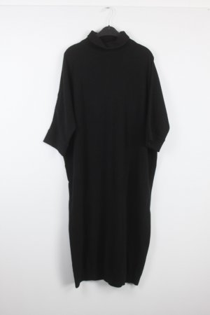 COS Knitted Dress black wool