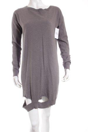 COS Strickkleid grau minimalistischer Stil