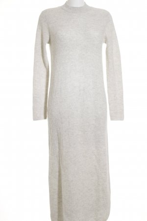 COS Knitted Dress oatmeal loosely knitted pattern casual look
