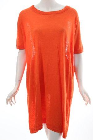 COS Strickkleid orange klassischer Stil