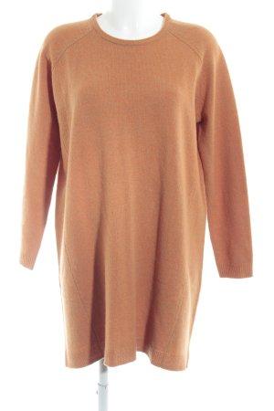 COS Robe en maille tricotées orange moucheté style décontracté