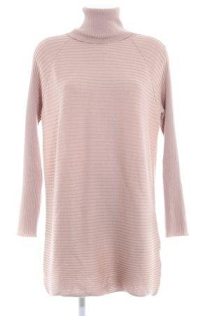 COS Abito di maglia color oro rosa strisce orizzontali stile casual