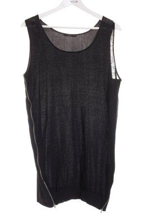 COS Strickkleid schwarz Elegant