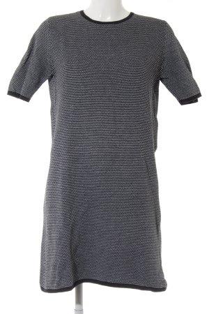 COS Robe en maille tricotées noir-blanc style décontracté
