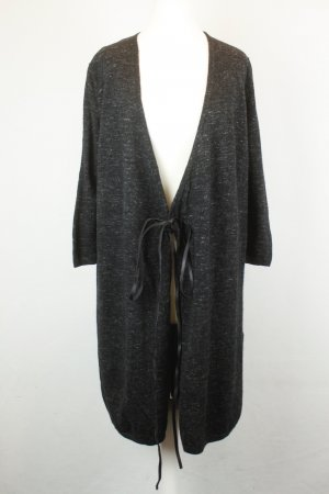 COS Strickmantel Cardigan Gr. XS anthrazit Wolle oversized