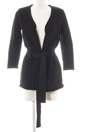COS Gebreide jas zwart elegant