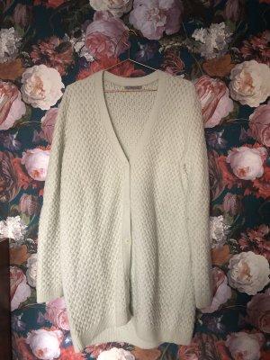 COS Manteau en tricot gris vert-vert menthe laine