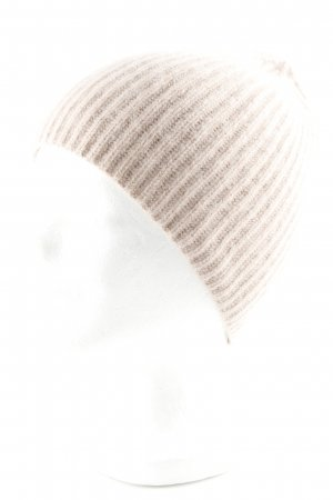 COS Knitted Hat dusky pink casual look