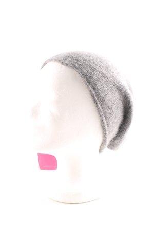 COS Cappello a maglia grigio chiaro stile casual