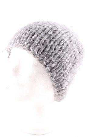 COS Cappello a maglia grigio stile casual