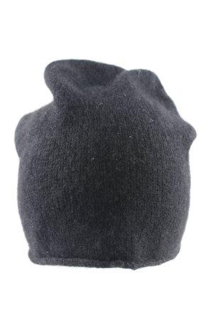 COS Strickmütze schwarz Casual-Look