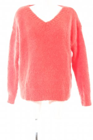 COS Strickpullover rot Casual-Look