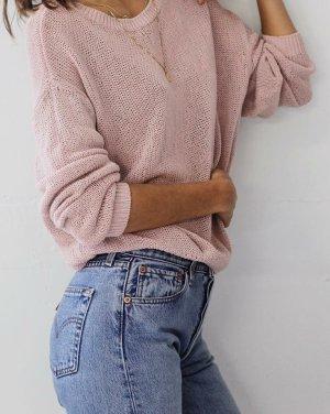 COS Strickpullover altrosa-pink Casual-Look