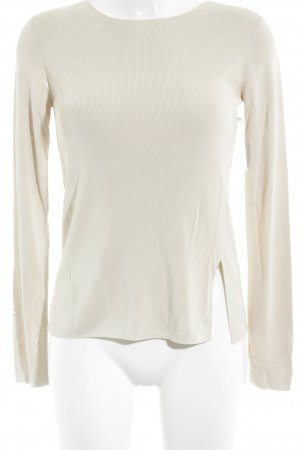 COS Strickpullover beige extravaganter Stil