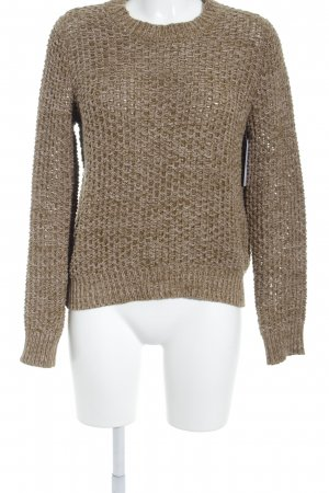 COS Strickpullover ocker Casual-Look