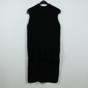 COS Knitted Sweater black wool