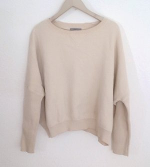 COS Strickpullover Pullover Batwing Oversized Creme Beige L Wolle 38 40 42 44