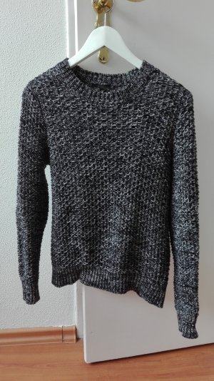 COS Strickpullover Pullover salt and pepper XS 34 Grobstrick