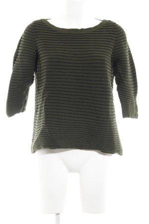 COS Strickpullover waldgrün Casual-Look