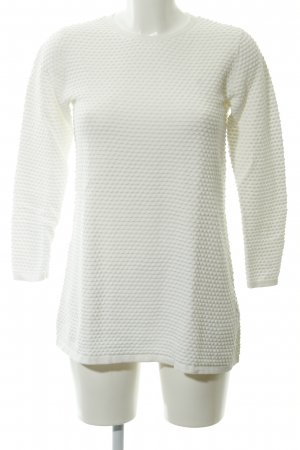 COS Knitted Sweater natural white casual look