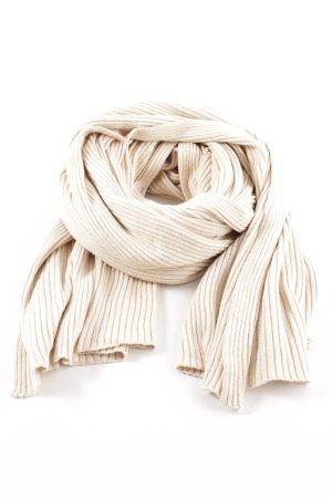 COS Sciarpa lavorata a maglia bianco sporco stile casual