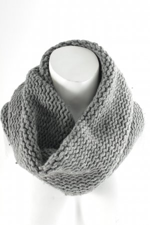 COS Strickschal grau Casual-Look