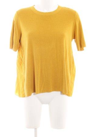 COS Strickshirt blassgelb Casual-Look