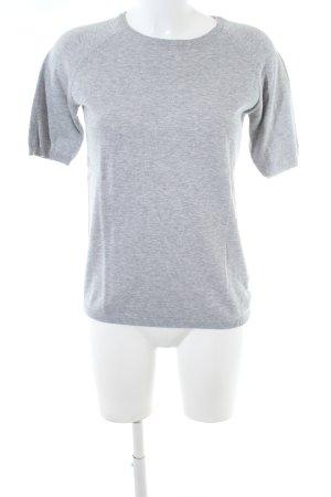 COS Camicia maglia grigio chiaro puntinato stile casual