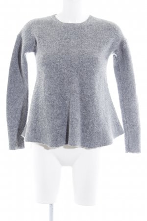 COS Strickshirt grau Casual-Look