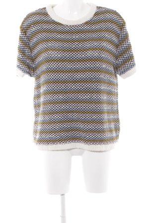 COS Camisa tejida estampado a rayas look casual