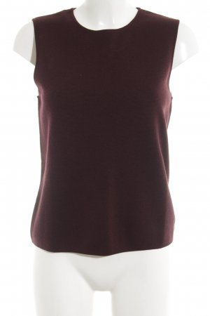COS Knitted Top bordeaux simple style