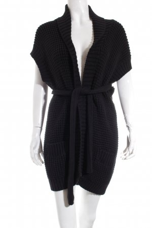 COS Strickweste schwarz Casual-Look