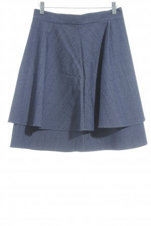 COS Broomstick Skirt pale blue jeans look
