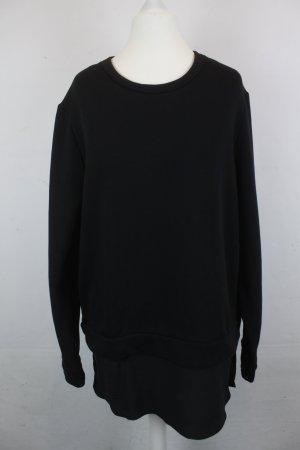 COS Sweatshirt noir coton