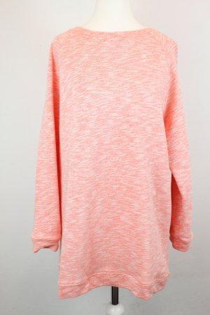 COS Sweater Sweatshirt Gr. XS lachs weiß meliert oversized
