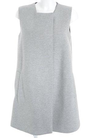 COS Chaqueta de tela de sudadera gris claro-azul oscuro look casual