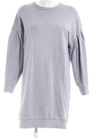 COS Vestido de tela de sudadera gris claro look casual