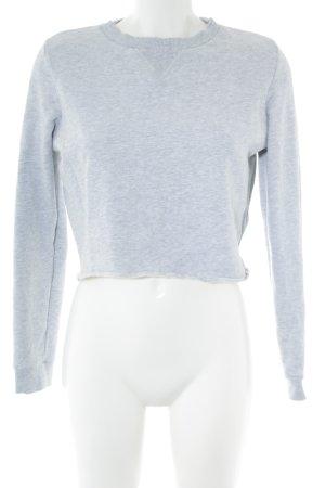 COS Sweat Shirt light grey flecked casual look