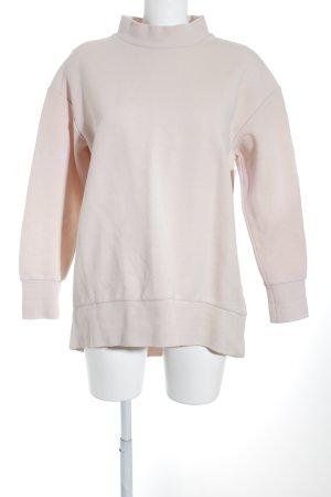 COS Sweat Shirt dusky pink-nude nude look