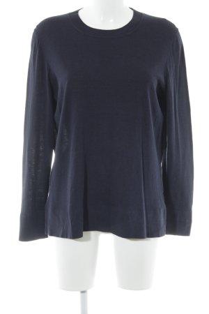 COS Sweatshirt dunkelblau Casual-Look