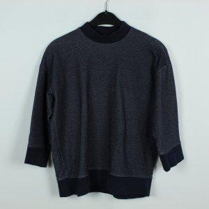 COS Sweatshirt Gr. S blau meliert (19/09/319)