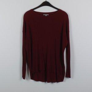 COS Sweatshirt Gr. S dunkelrot oversized (19/02/041)