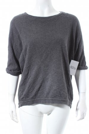 COS Sweatshirt grau meliert Casual-Look