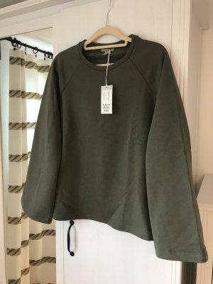 COS Sweatshirt Khaki M S