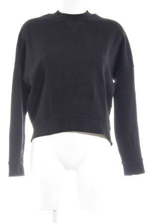 COS Sweatshirt schwarz Casual-Look