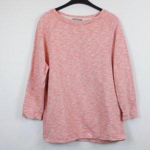 COS Sweatshirt Sweater Pullover Gr. M hellrot weiß (18/2/298)