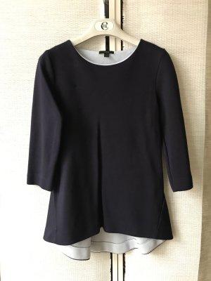 COS Sweatshirtstoff in Designstil, Violett / Hellblau
