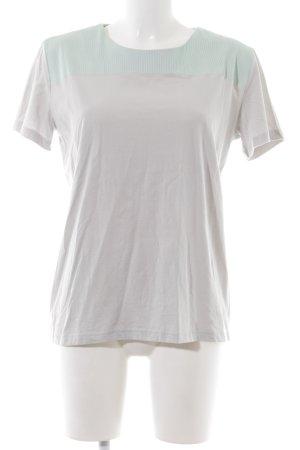COS T-shirt gris clair-vert style mode des rues