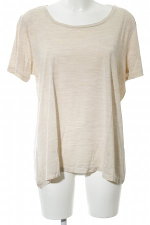 COS T-Shirt cream flecked casual look