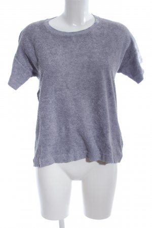 COS T-Shirt hellgrau meliert Casual-Look